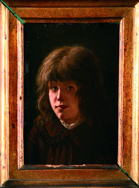 Portret dziecka, 1886