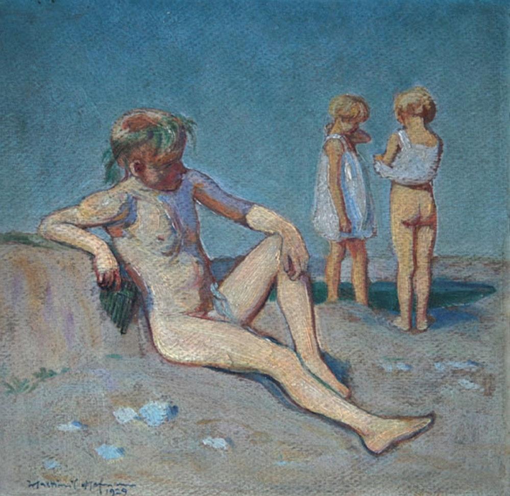 Lato z cyklu Idylla, 1929