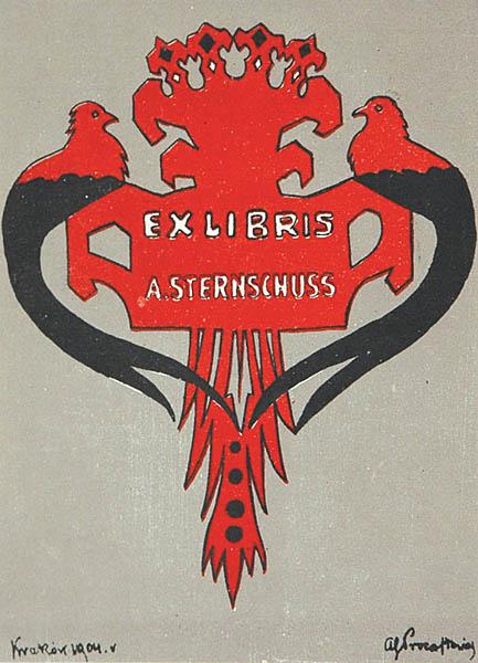 Exlibris A. Sternschussa
