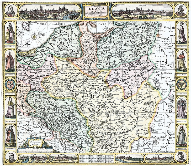 Haec Tabula nova Poloniae  et Silesiae, Sigisimondo Tertio, dei Gratia Regi Poloniae...