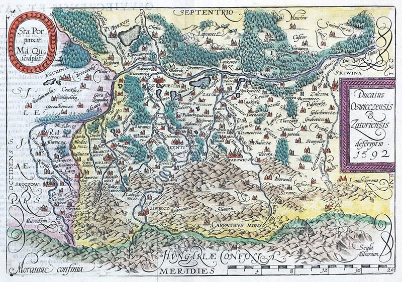 Ducatus Oswieczensis & Zatoriensis descriptio 1592