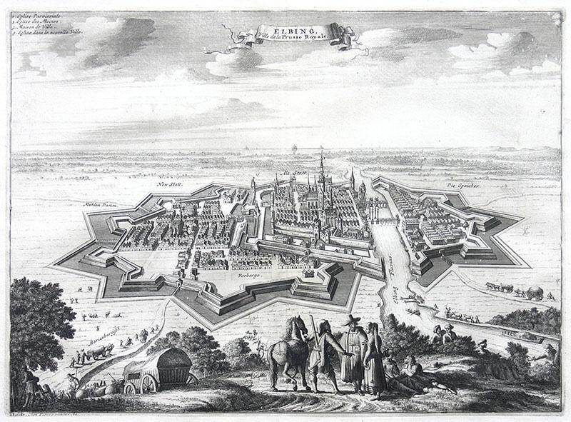Elbing, Ville de la Prusse Royale