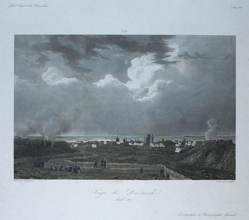 Siege de Dantzick. Avril 1807