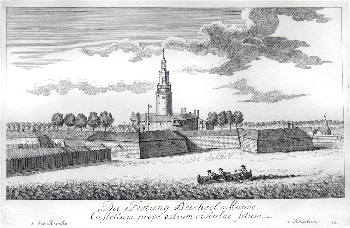 Die Festung Weichsel=Munde