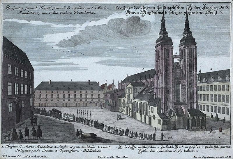 Prospectus Secundi Templi prymarii Evangelicorum S. Mariae Magdalenae