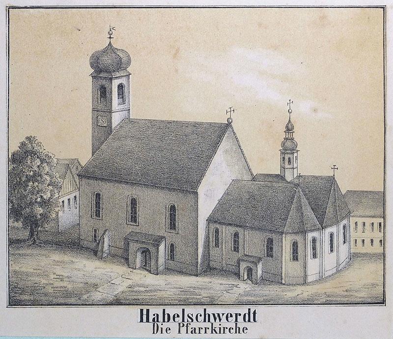 Habelschwerdt. Die Pfarrkirche