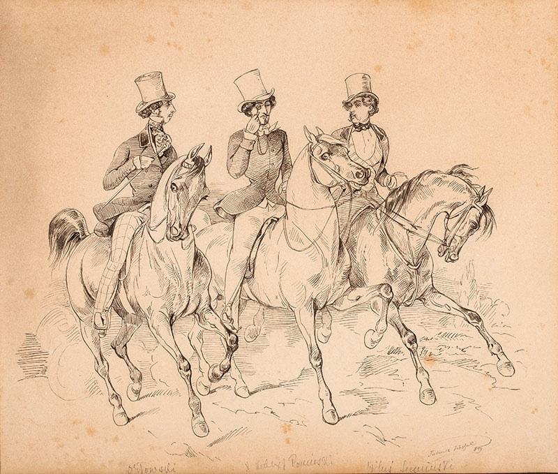 Jeźdźcy, 1849 r.
