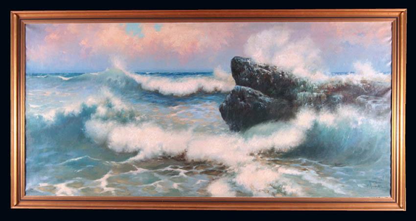 Morskie skały, 1912 r.