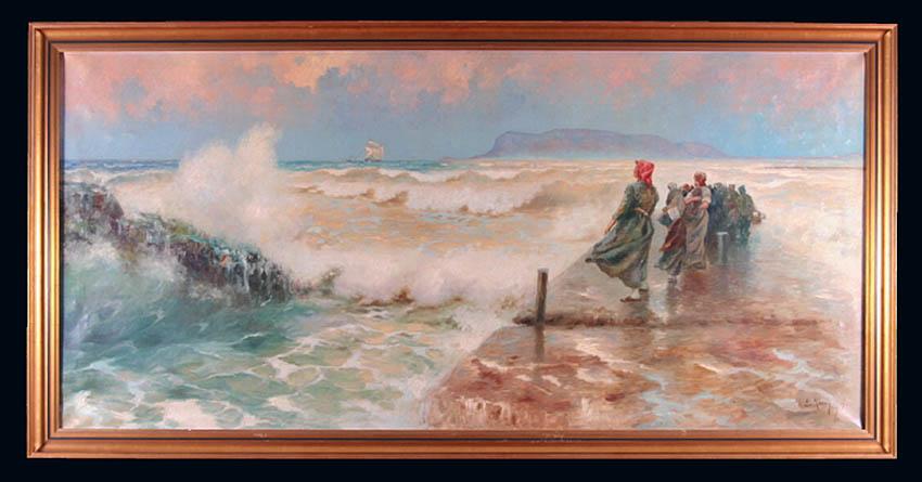 Kobiety nad brzegiem morza, 1912 r.