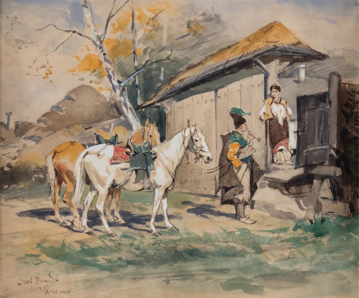 ZALOTY, POŁ. LAT 70 XIX W.