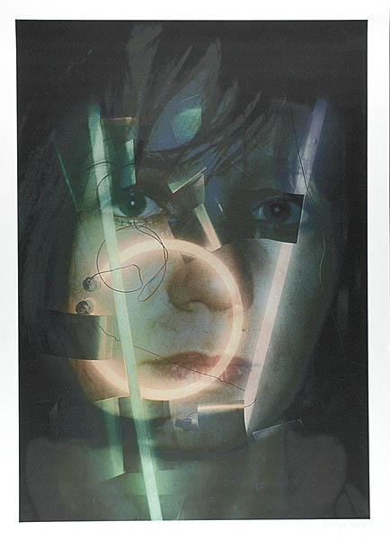 Portret z neonami - Marta T., 2004