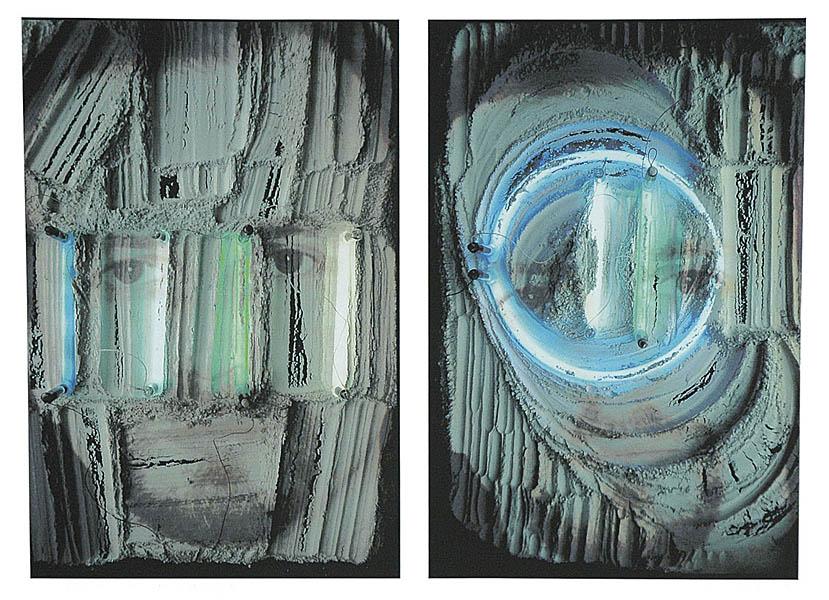 Portrety z neonami - 2 x Dariusz G., 200