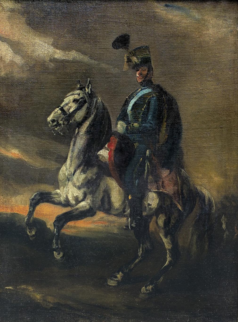 KAWALERZYSTA NA KONIU, 1836-1850