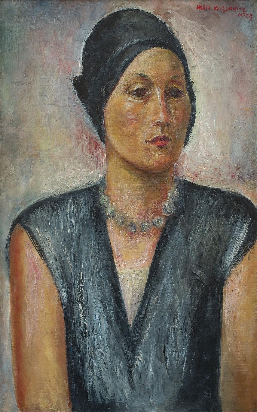 PORTRET ŻONY, 1929