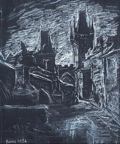 MOTYW ARCHITEKTONICZNY, 1936