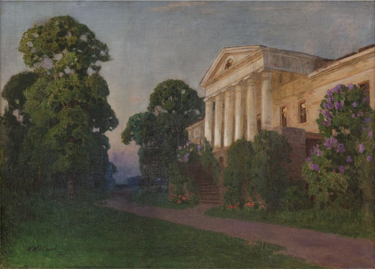Pałac na kresach, 1925