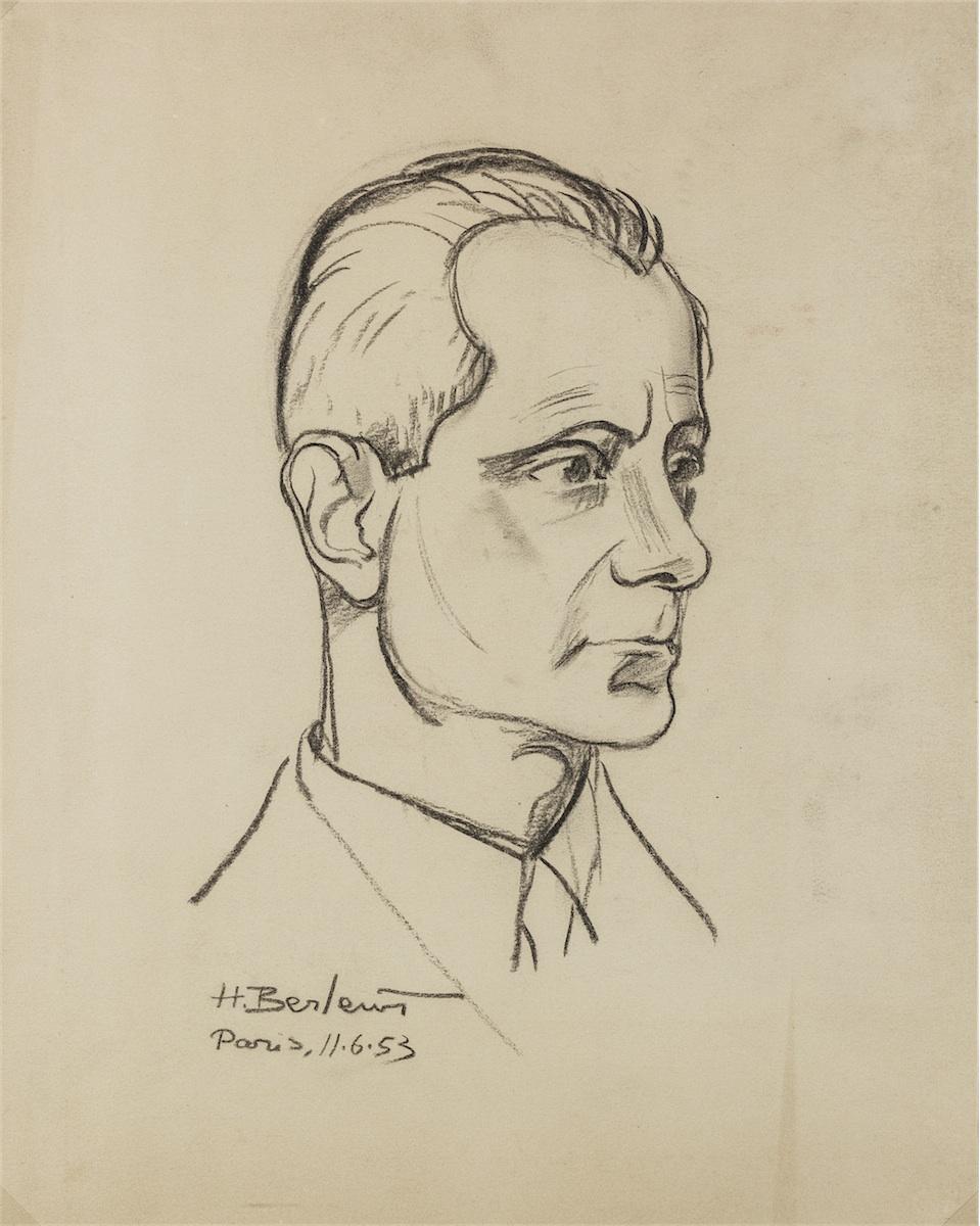 Portret mężczyzny, 1953