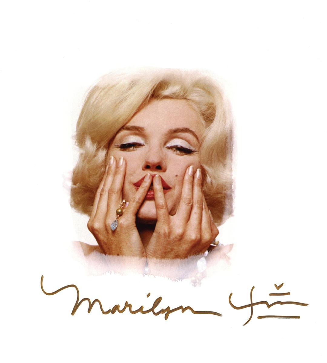 Zdjęcie Marilyn Monroe  z ostatniej sesji zdjęciowej do Vogue, 1962