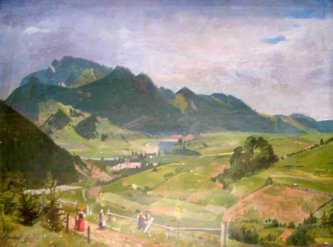 Pejzaż górski, 1920