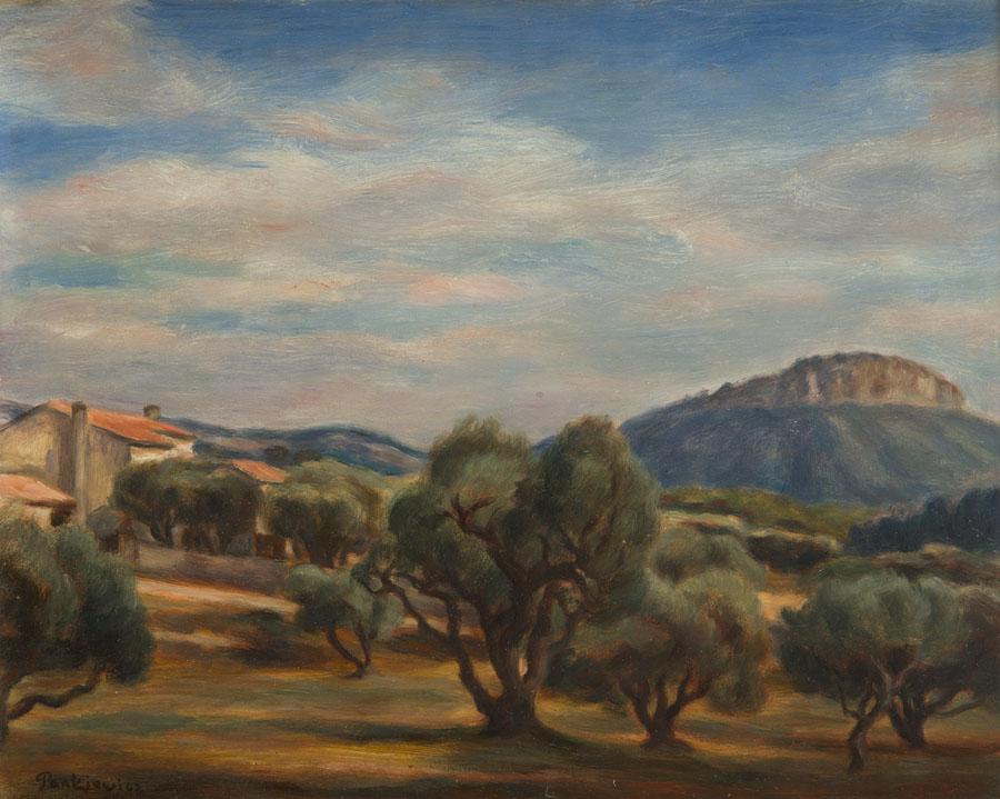 Pejzaż z Cassis, 1928 r.