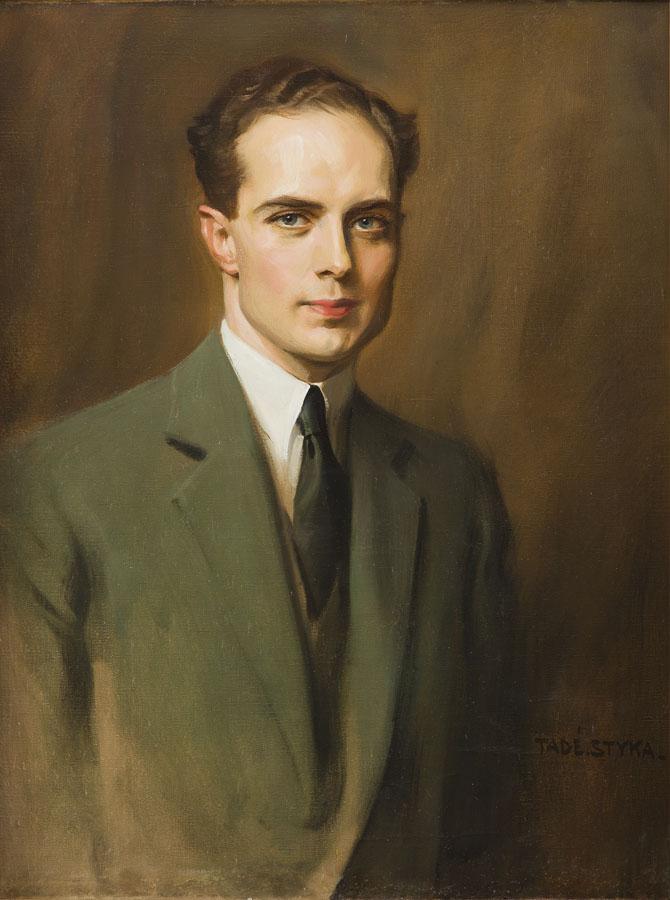 Portret artysty, około 1930 r.