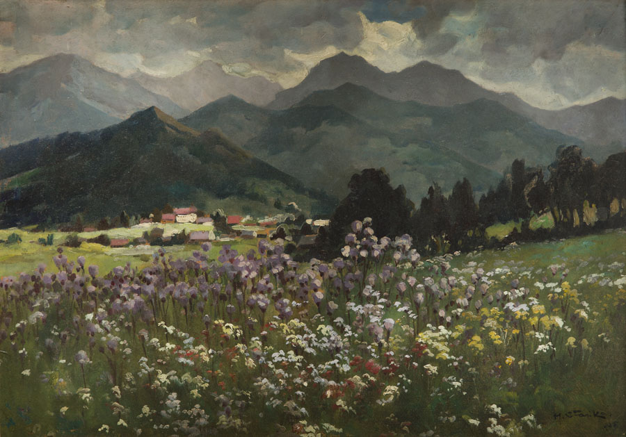 Wiosna w Tatrach, 1935 r.