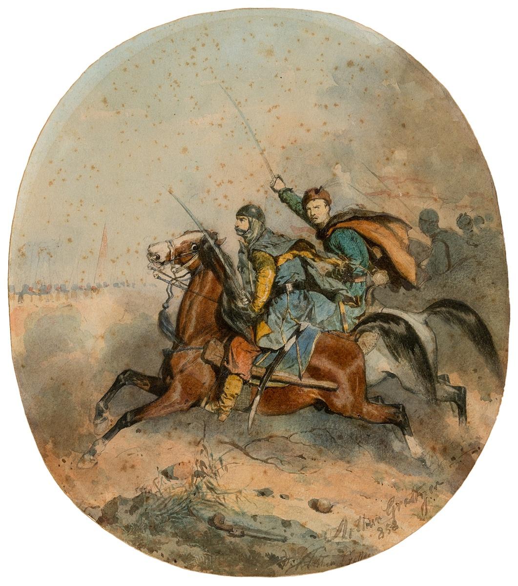 Szarża, 1858