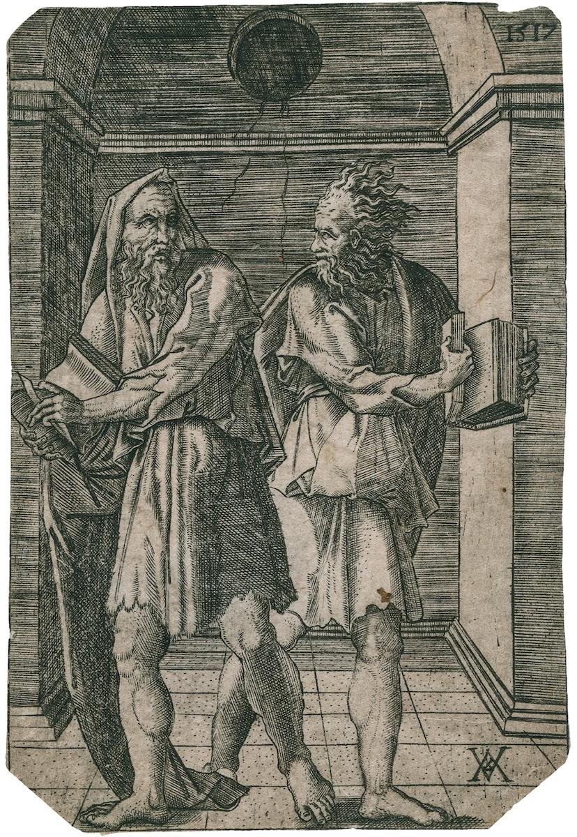 Heraklit i Demokryt, 1517