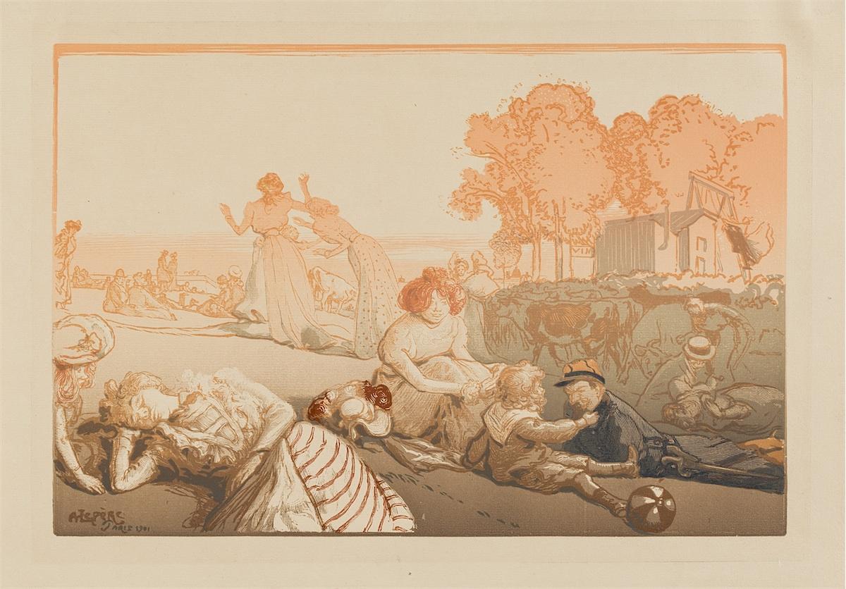 Bucolique moderne, 1901