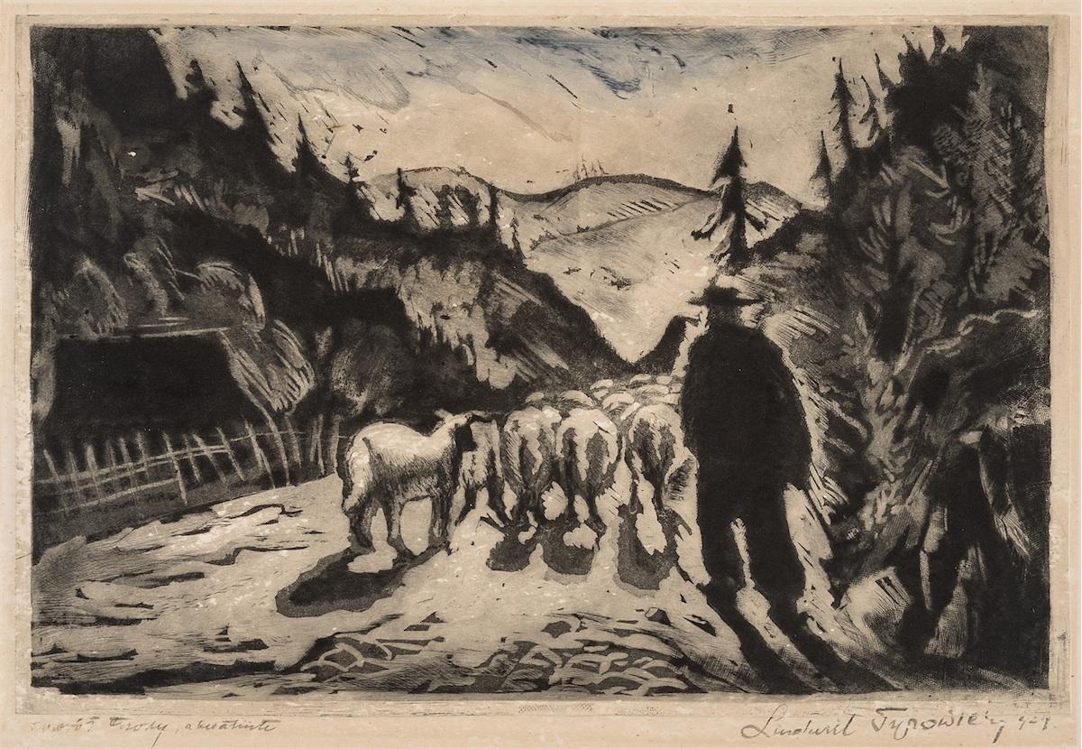 Powrót trzody, 1929