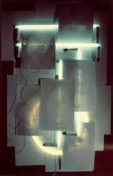 Portrety z neonami - Seria D
