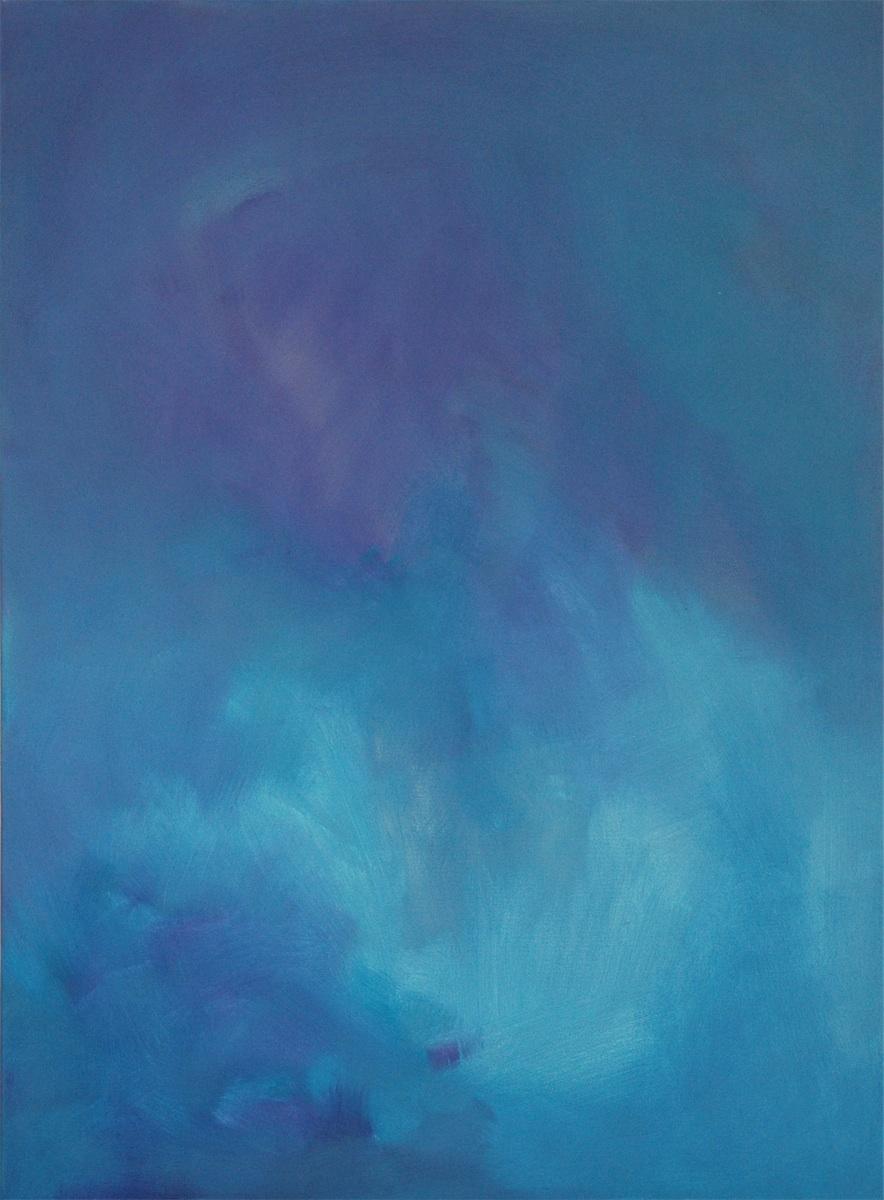 z cyklu Przestrzenie błękitu XVII, 2006