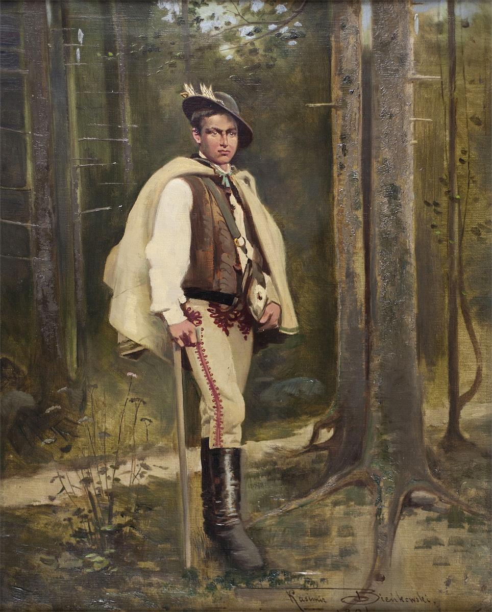 Młody góral, 1894
