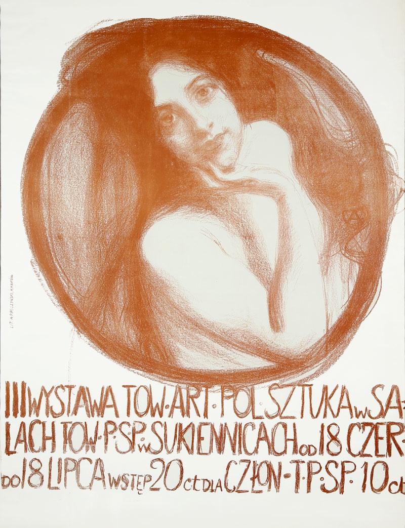Plakat III wystawy Towarzystwa Artystów Polskich SZTUKA, 1899