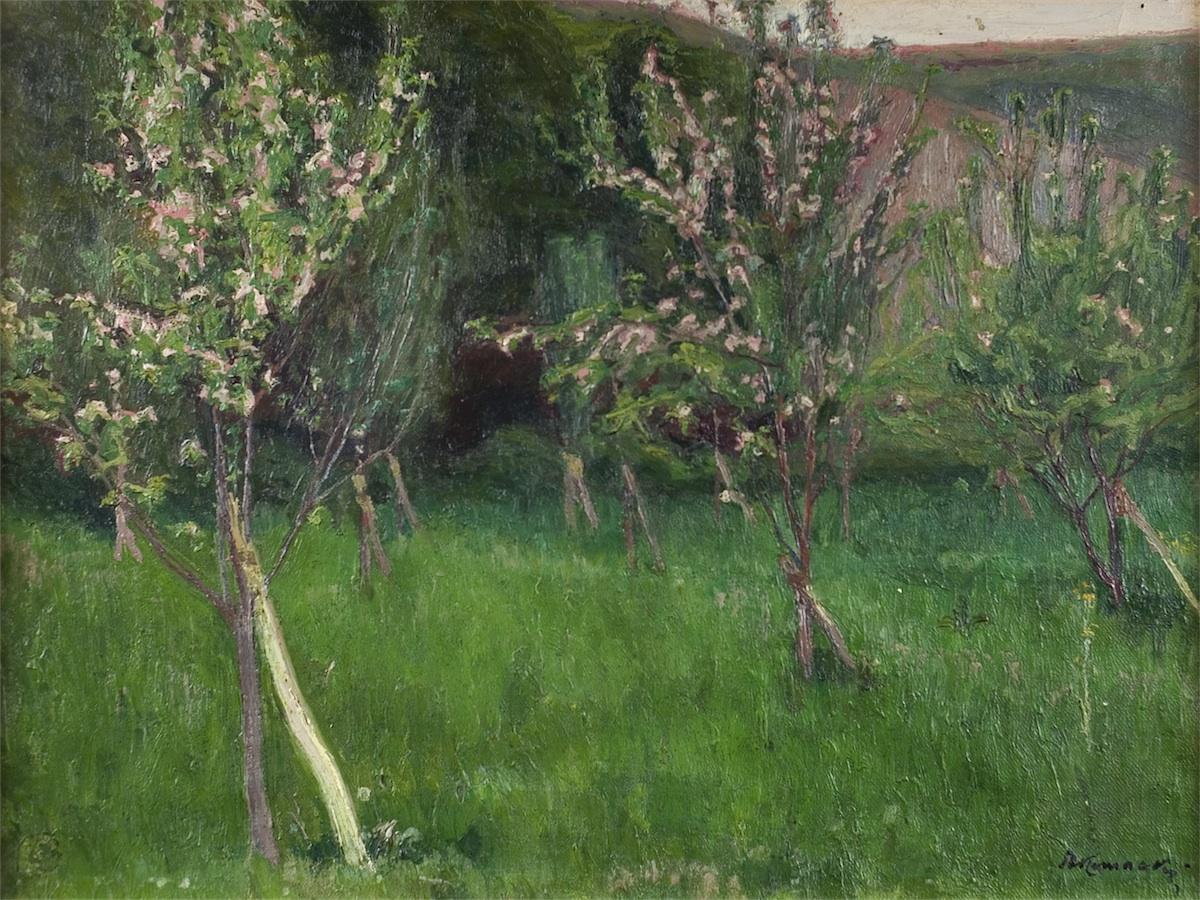 Kwitnący sad, ok. 1907