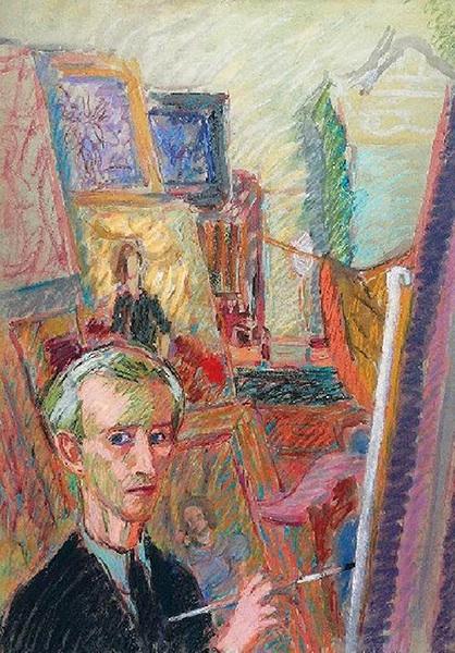 Artysta w pracowni, 1943