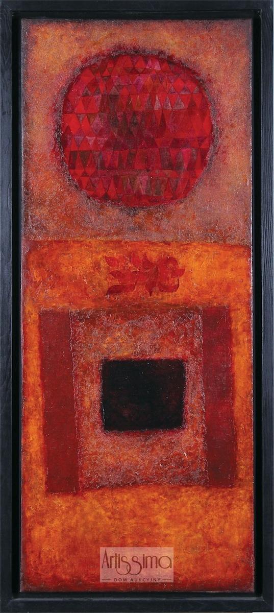 Pe Zade - Kompozycja czerwona, 1966