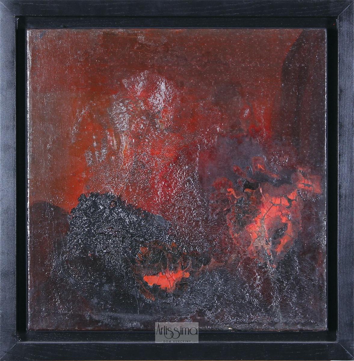 Kompozycja czerwona, 1956-1957