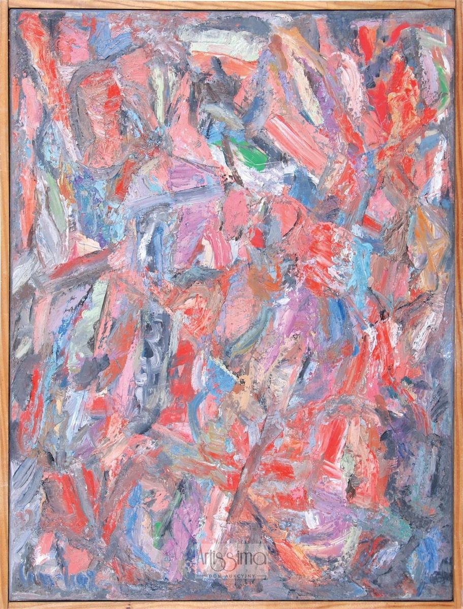 Kompozycja abstrakcyjna, 1972
