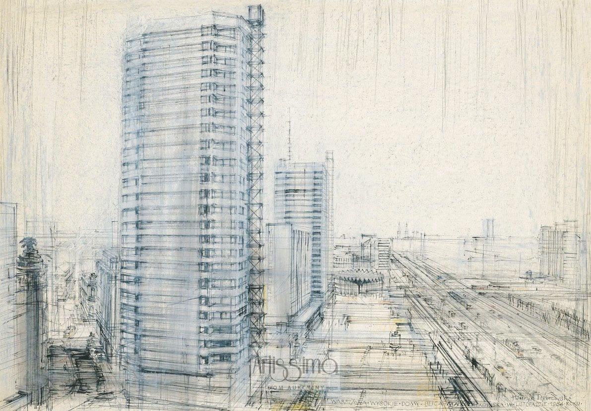 Warszawa - Ściana Wschodnia, 1964/2011