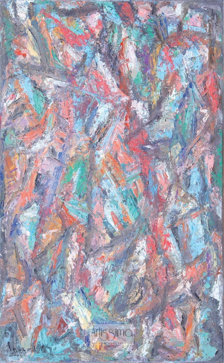 Kompozycja abstrakcyjna, 1969