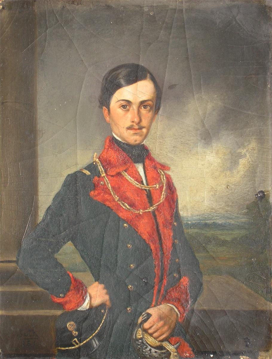 Portret Antoniego hr. Potockiego, 1851