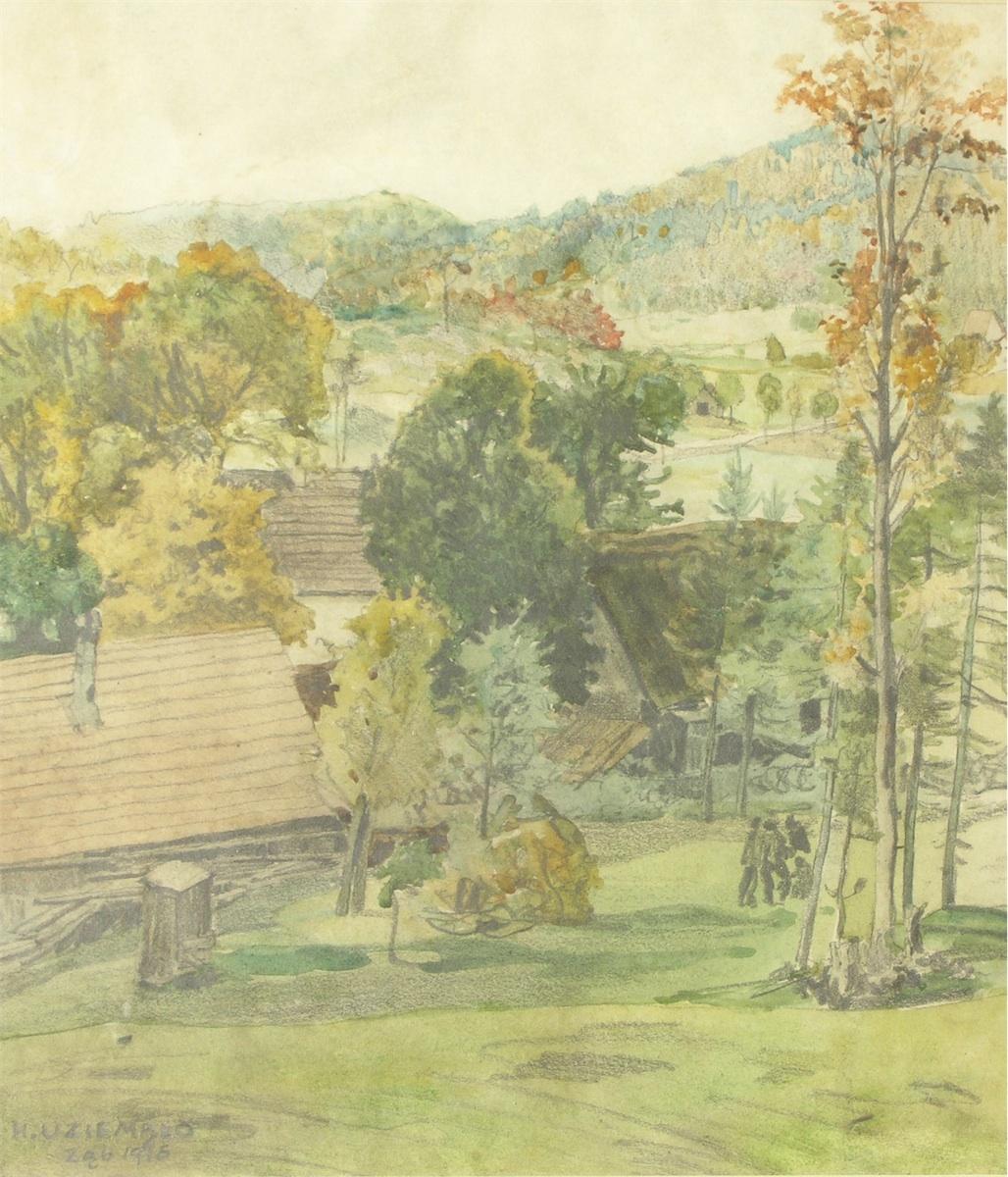 Ząb - wieś koło Zakopanego, 1916