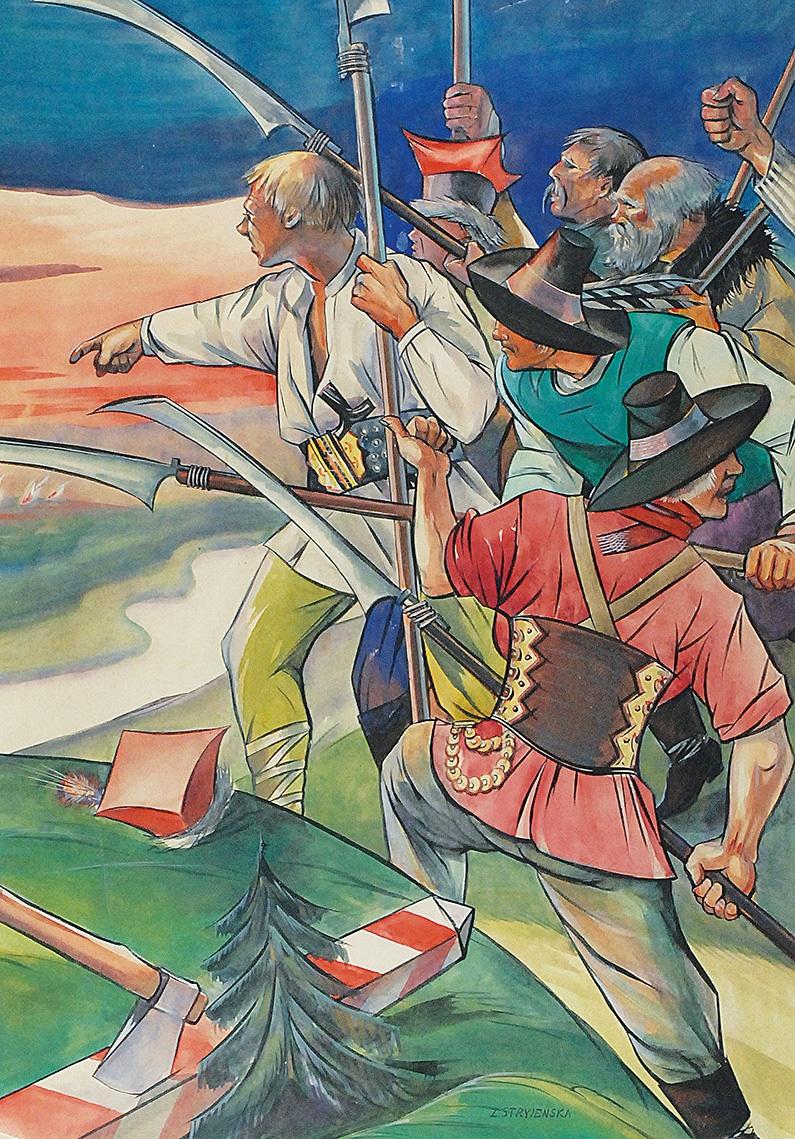 Powstanie, ok. 1930