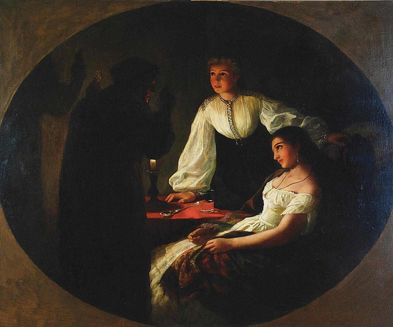 Noc św. Andrzeja - Wróżbita, 1867