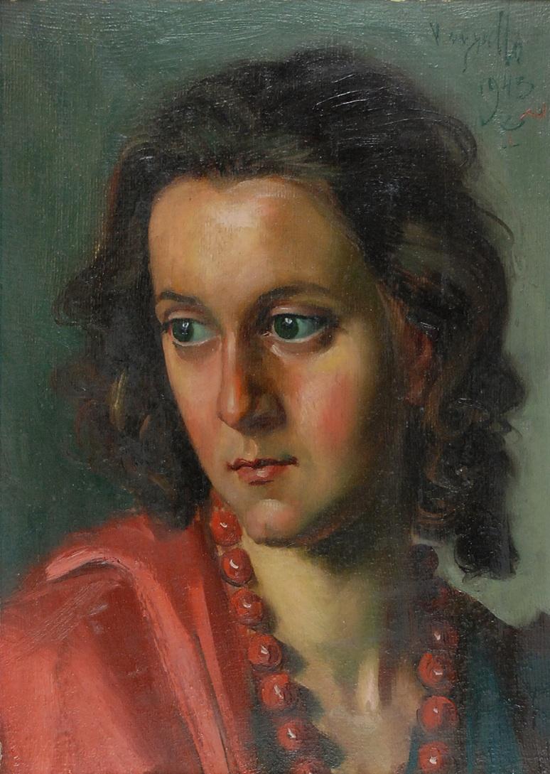 Zielone oczy i czerwone korale, 1943