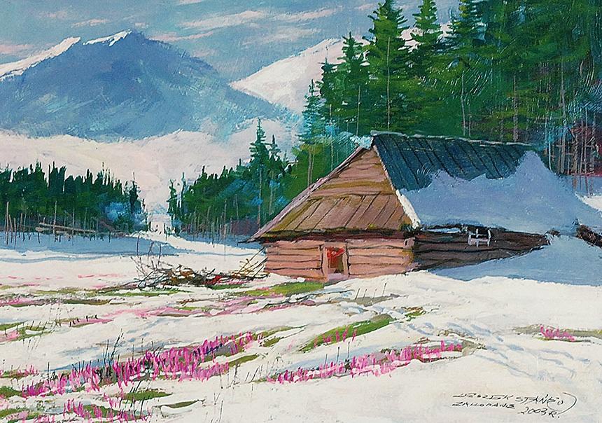 Zima w górach, 2003