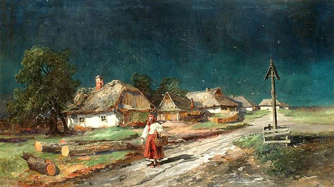 CISZA WIECZORNA, 1903