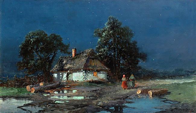 NOC KSIEZYCOWA, 1901