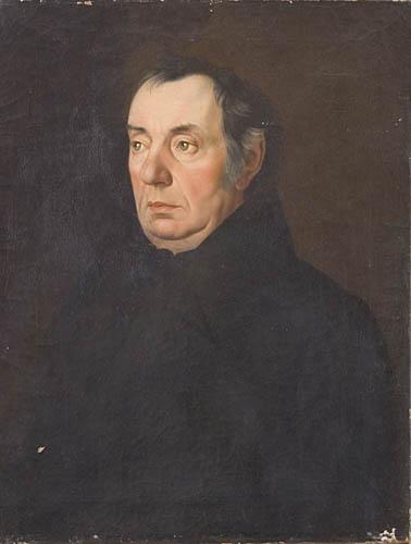 PORTRET NIEZNANEGO MĘŻCZYZNY, przed 1829